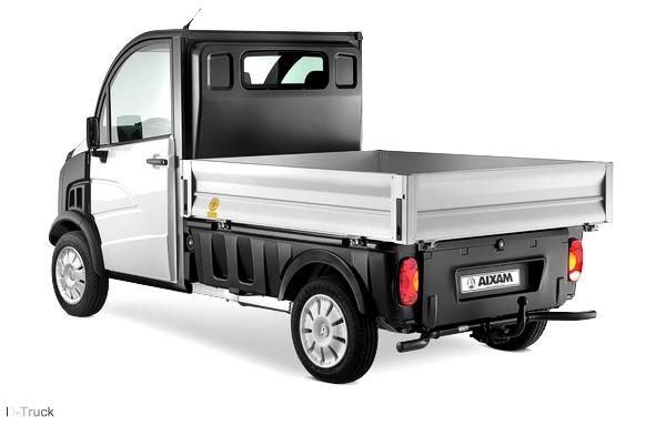 aixam d truck leichtkraftfahrzeug 45km h modell 2014. Black Bedroom Furniture Sets. Home Design Ideas