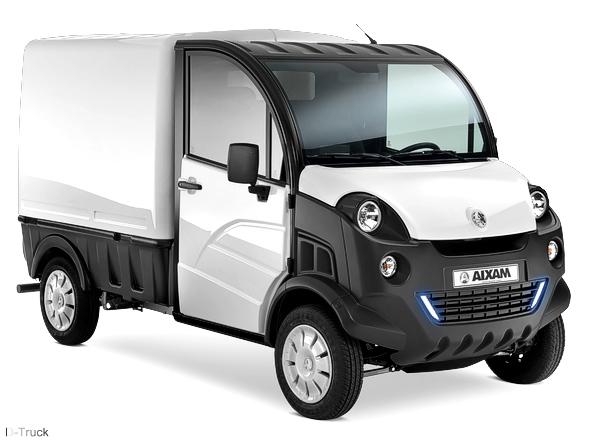 aixam d truck van nutzfahrzeug leichtkraftfahrzeug 45km h. Black Bedroom Furniture Sets. Home Design Ideas