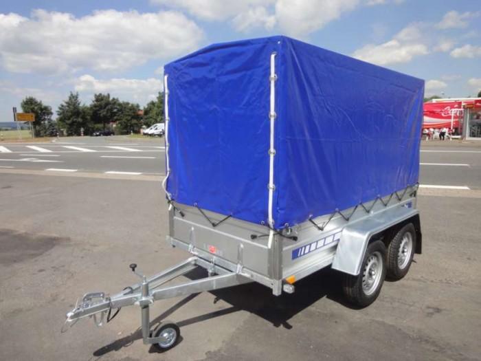 PKW - Anhänger mit Tandemachse - 750 kg Gesamtgewicht - Auto ...