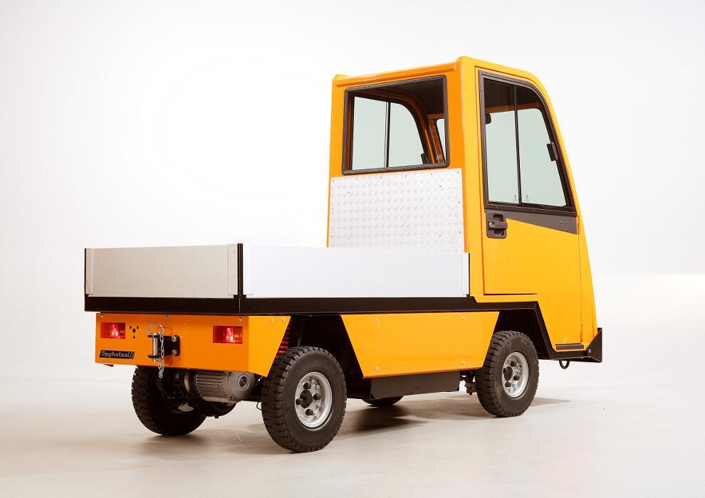 hamal elektrofahrzeug typ 850 mit plattform f r 800 kg. Black Bedroom Furniture Sets. Home Design Ideas
