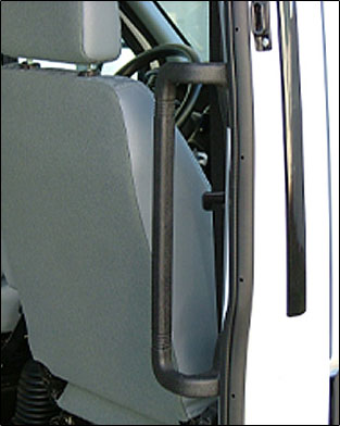 rehamobile trittstufe trittbrett f r van transporter wohnmobil mit handgriff. Black Bedroom Furniture Sets. Home Design Ideas